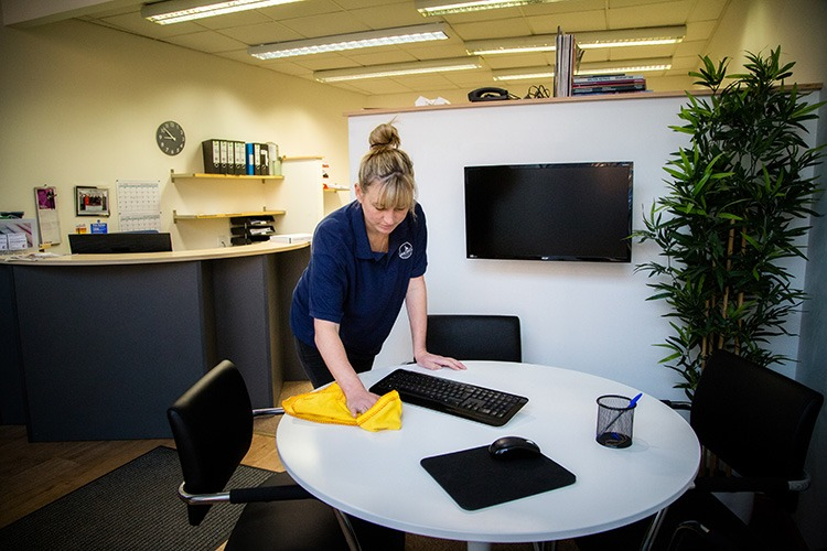 office cleans in Montrose, Arbroath and Carnoustie