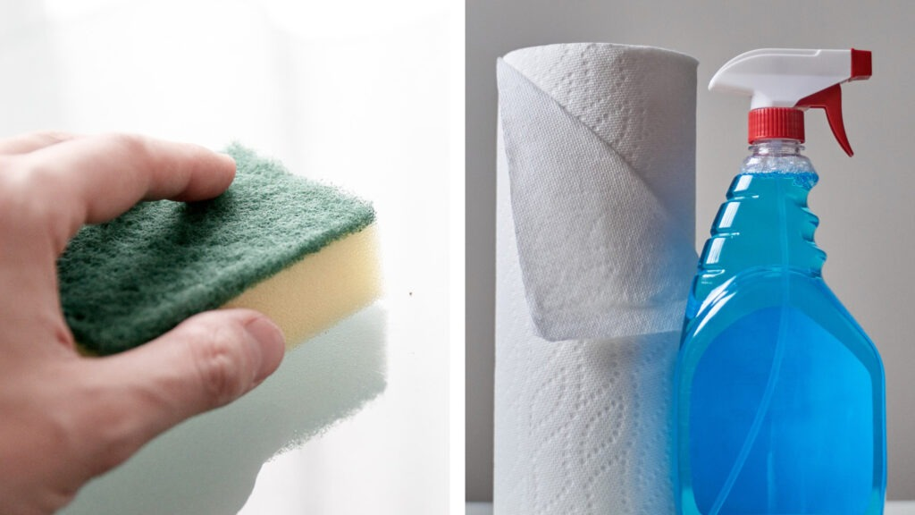 Cleaning-aids-holiday-home